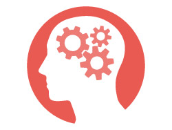 Behavioural Finance Applied - Brain with Cogs