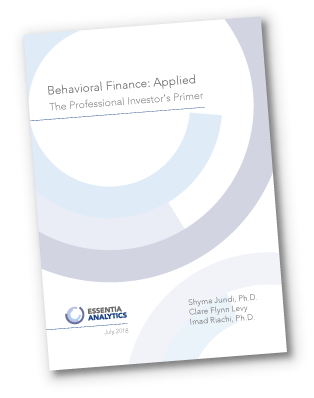 Behavioral Finance - Applied. A primer for professional investors.
