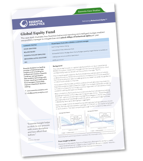 Image of the Global Equity Fund Case Study