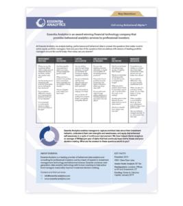 Picture of Essentia Analytics FAQ