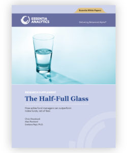 The Half-Full Glass - Research Paper