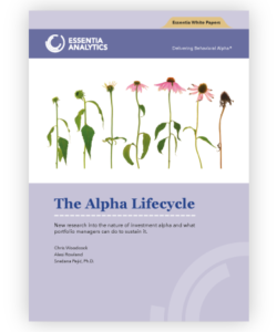 The Alpha Lifecycle - Research Paper
