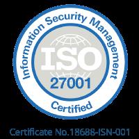 Essentia Analytics is ISO27001 Certified