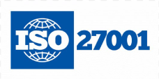 Landscape image of the ISO 27001 certification logo